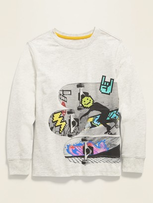 Old Navy Long-Sleeve Graphic Tee for Boys