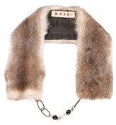 Marni Fur Collar