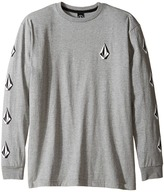 Volcom Deadly Stones Long Sleeve Tee (Big Kids)