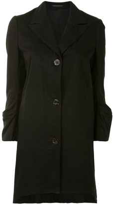 Yohji Yamamoto Pre-Owned Pocket-Long-Sleeves Coat