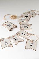 Next Barn Wedding Alphabet Bunting