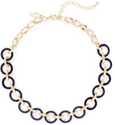 New York & Co. Enamel Circle Necklace