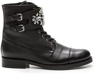 Cosmo Paris Cosmoparis Kimmi Leather Ankle Boots