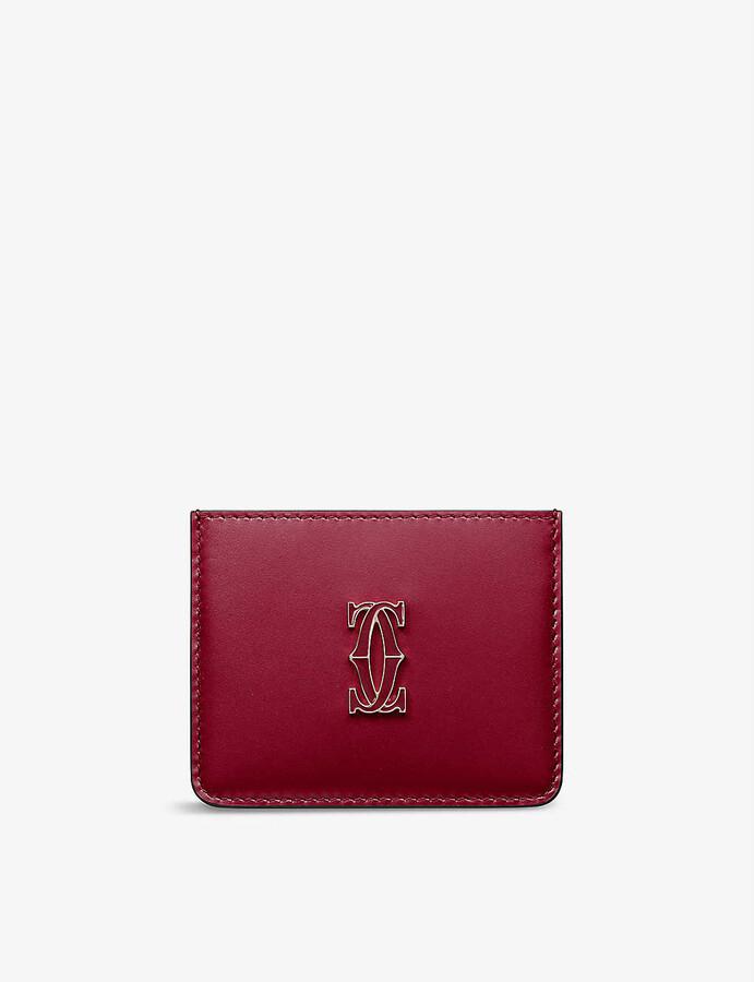 Cartier Must de leather card holder