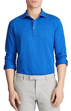 Polo Ralph Lauren Custom Slim Fit Long-Sleeve Polo Shirt