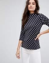 Vila Polka Dot T-shirt