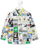 Fendi printed shirt - kids - Cotton - 4 yrs