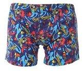 Superman Mens 100% Cotton Boxer Shorts Underwear (1 Pair)
