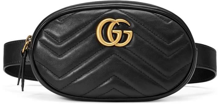 Gucci GG Marmont matelassé leather belt bag