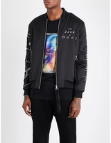 Blood Brother Poplar Satin Bomber Jacket