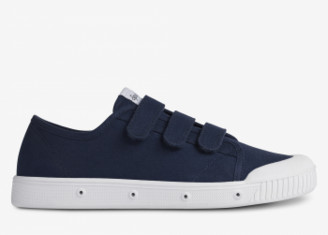 Spring Court Night Blue G2 Sneakers with Scratchs - 36   night blue   cotton - Night blue