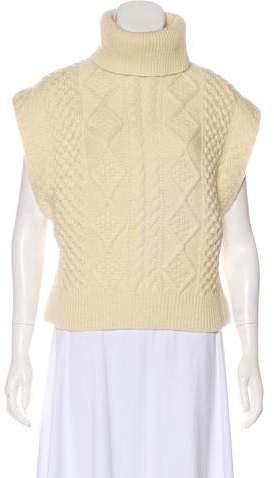 Womens Cream Sweater Vests Shopstyle