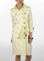 Taffeta Trench Coat With Hood