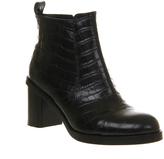 Poste Mistress Natalie Toe Cap Boots