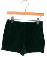 Caramel Baby & Child Girls' Tailored Velvet Shorts