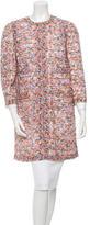 Dolce & Gabbana Floral Silk Coat w/ Tags
