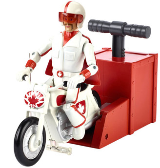 Mattel Toy Story 4 Canuck & Boom Boom Bike 7 Figure