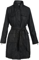T Tahari Black Giselle Raincoat
