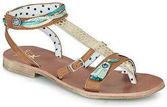 Catimini SABRALIA girls's Sandals in Brown