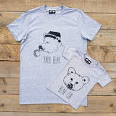 Don't Feed the Bears Papa Bear And Bear Cub T Shirt Set Gift For Dad