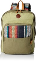 Roxy Womens Camp Fire Backpack, O/S, Military Olive
