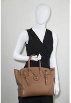 Ralph Lauren excellent (EX Tan Leather Soft Ricky Bag