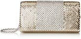 Jessica McClintock Cassie Flap Mesh Clutch Evening Bag