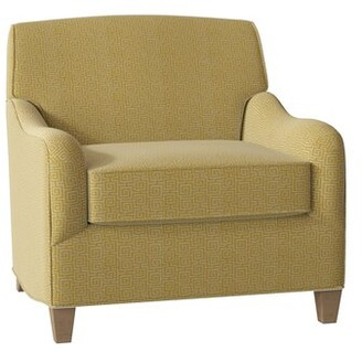 Hekman Diana Armchair Body Fabric: 5576-232, Leg Color: Dove Gray, Seat Cushion Fill: Extra Firm