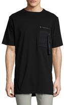 Marcelo Burlon County of Milan High-Low T-Shirt