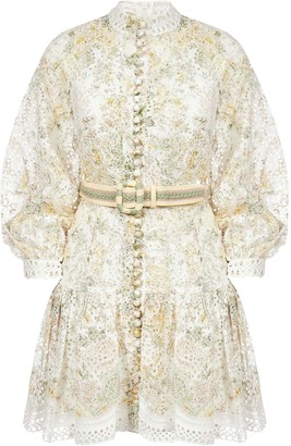 Zimmermann Amelie Embroidered Dress