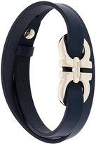 Salvatore Ferragamo double Gancio wrap bracelet