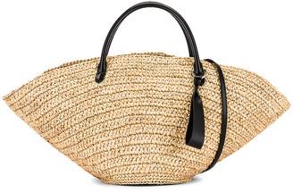 Jil Sander Medium Sombrero Bag in Natural | FWRD