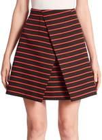 Proenza Schouler Women's Striped Wrap Skirt