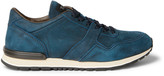 Tod's Panelled Nubuck Sneakers