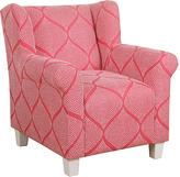 HomePop Strawberry Kids Accent Chair