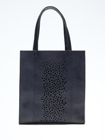 Banana Republic Portfolio Structured Laser-Cut Snake Tall Tote
