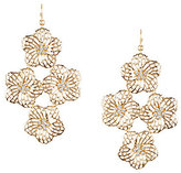 Anna & Ava Jennifer Flower Statement Chandelier Earrings