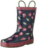 Western Chief Kids' Sweet Cherries Rain K Pull-On Boot