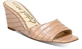Sam Edelman Women's Tesma Slip On Wedge Sandals
