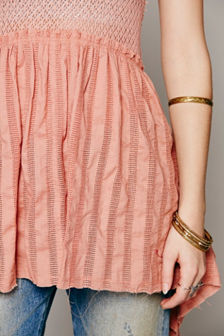 Babydoll Knotted Tunic