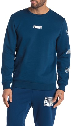 Puma Long Sleeve Crew Neck T-Shirt