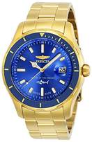 Invicta Men's 'Pro Diver' Quartz Stainless Steel Casual Watch, Color:Gold-Toned (Model: 25811)