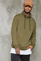 Forever 21 Hidden Zipper-Hood Pullover
