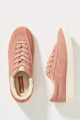Tretorn Shearling-Lined Sneakers