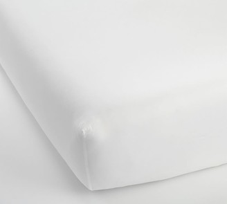 Pottery Barn 500-Thread-Count Cotton Fitted Sheet