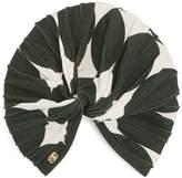 ADRIANA DEGREAS Spot-print stretch turban