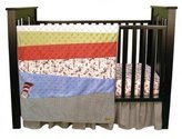 Trend Lab Dr. Seuss Cat in the Hat 3-Piece Crib Bedding Set By by