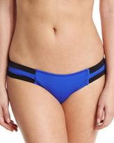 Seafolly Block Party Spliced Hipster Swim Bottom, Blue