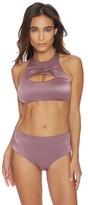 Luxe by Lisa Vogel Liquid High Neck Bikini Top