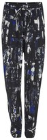 McQ by Alexander McQueen Women's Richter Print Loose Trousers Cobalt Blue
